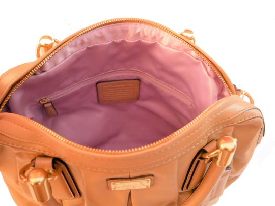 Coach Satchel in Taupe Image 4