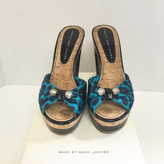 Marc by Marc Jacobs blue Wedges Image 1