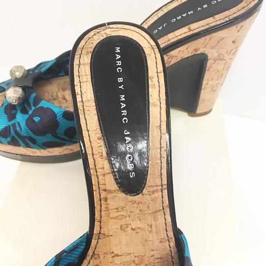 Marc by Marc Jacobs blue Wedges Image 3