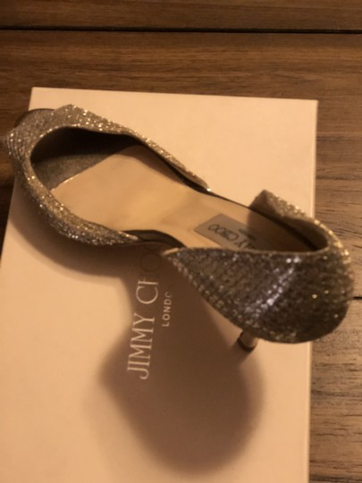 Jimmy Choo Champagne Pumps Image 1