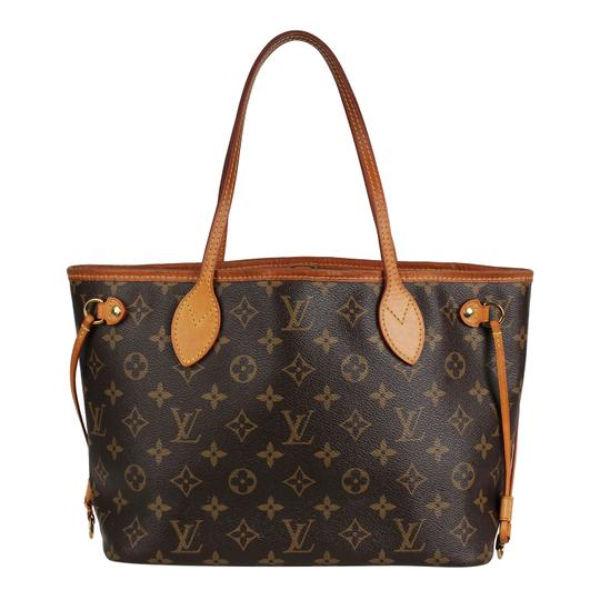 Preload https://img-static.tradesy.com/item/24138844/louis-vuitton-neverfull-pm-brown-canvas-tote-0-1-540-540.jpg