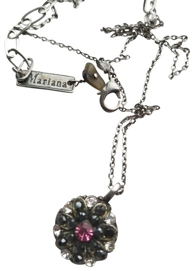 Marianna 20-inch pink angel charm and necklace Image 1