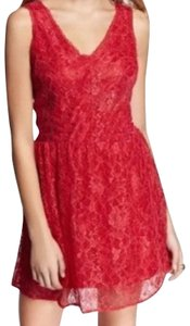Red Maxi Dress by Express