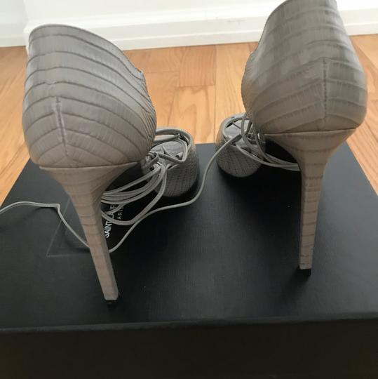 Saint Laurent Gray Sandals Image 1