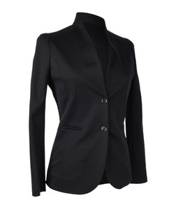 Gucci Blazer Single Breast Black Jacket