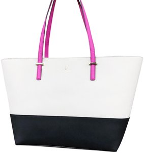 Kate Spade Cedar Street Harmony Large New With Tag Tote in Black Pink