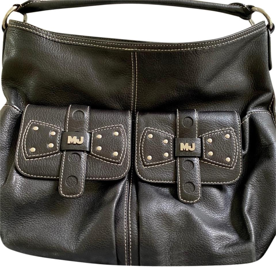 5a44291a6be1 Marc Jacobs Mj On The Two Front Pockets Inside Pocket On Silver ...