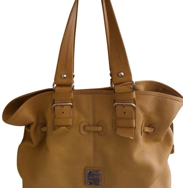Item - Satchel Yellow Pebbled Leather Shoulder Bag