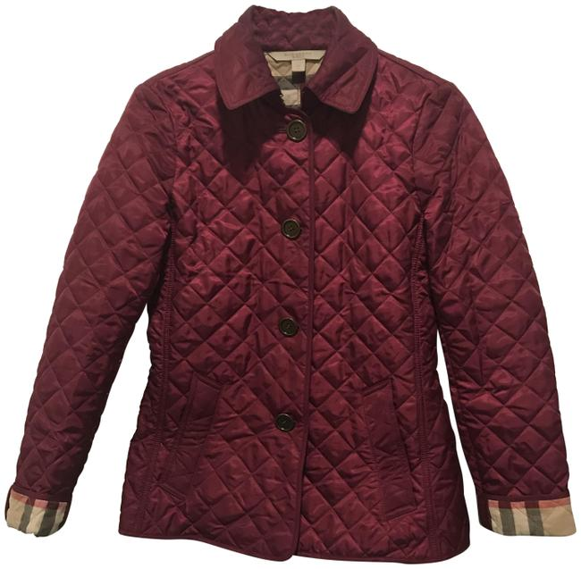 Item - Purple Diamond Quilted Jacket Size 0 (XS)