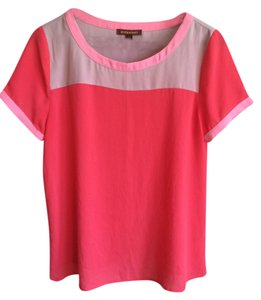 Hive & Honey Color-blocking Top Pink multi