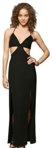 BLACK Maxi Dress by Urban Outfitters Cutout Bodycon Beach Backless Out