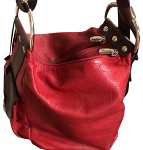 c6439f6b3dd880 Cristina Red Leather Hobo Bag - Tradesy