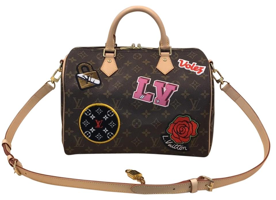 104cf65138ad Louis Vuitton Speedy Speedy Speedy 30 Limited Edition Speedy 30 Bandoulier  Satchel in Monogram Image 0 ...