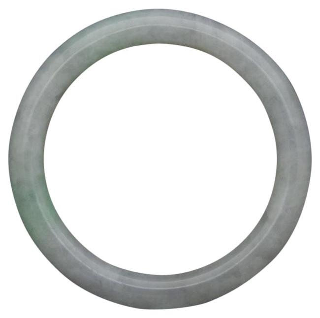 Item - Jade Excellent Nature Highend Icy Green Bangle 8mm Thick 53mm Bracelet