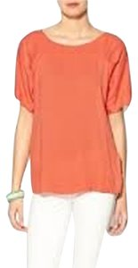 Ella Moss Soft Comfortable Date Night Top Sunset