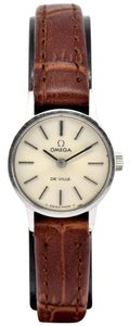 Omega Vintage Omega DeVille Stainless Steel Hand-Winding Ladies Watch
