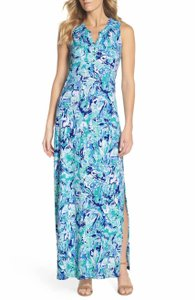 Turquoise Maxi Dress by Lilly Pulitzer