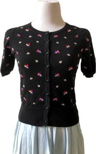 Laura Ashley Embroidered Floral Cardigan