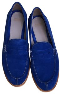 Johnston & Murphy Loafer Suede Blue Flats