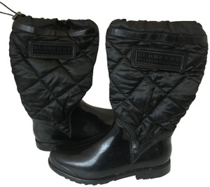 Burberry Rainboot Snowboot Chanel Black Boots