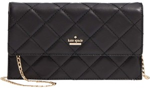 Kate Spade Quilted Leather Flap Closure Emerson Cross Body Bag