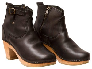 Mix No. 6 Clog Moto Winter Black Boots
