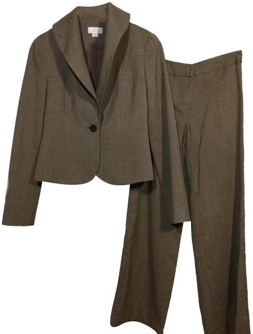 Item - Brown Work Pant Suit Size 2 (XS)