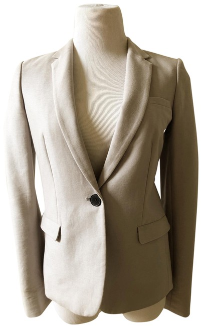 Item - Grey New One-button Fair Lawn In Light New with Tags Blazer Size 4 (S)