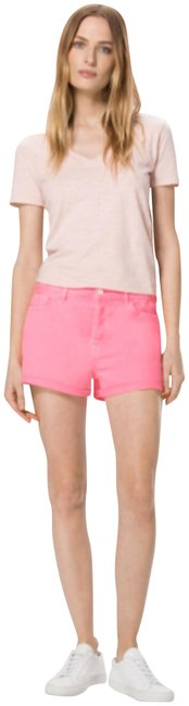 Item - Pink Gracie Sun High-rise In Guava Shorts Size 8 (M, 29, 30)