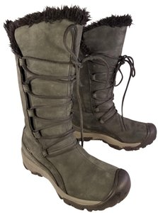 Keen Dry Winter Snow Woman charcoal gray Boots