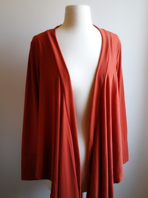 JonDen Sweater Knit Asymmetrical Hem Cardigan Image 1