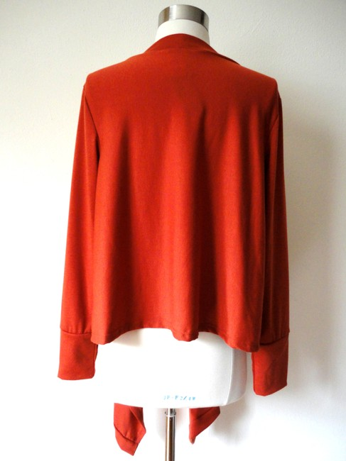JonDen Sweater Knit Asymmetrical Hem Cardigan Image 2
