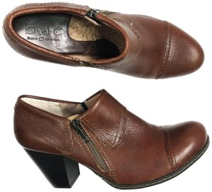 B.O.C. Leather Brown Mules