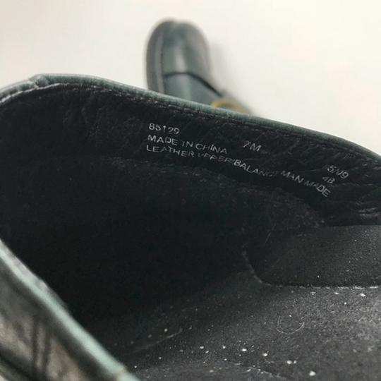 Clarks Leather Buckle Black Mules Image 2