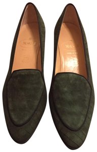 Bruno Magli Green Wedges