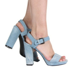 Shoe Republic LA Blue Platforms