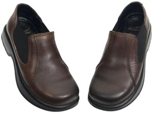 Dansko Leather Brown Mules