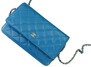 c69c40295da7 Blue Patent Leather Chanel Bags - 70% - 90% off at Tradesy