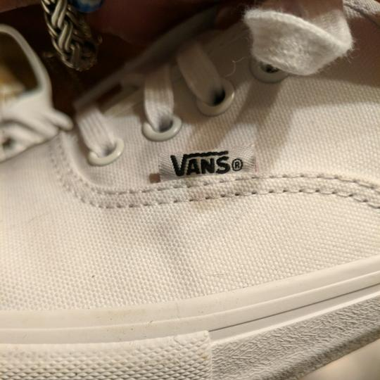 Vans Size 11.5 Womens 9.5 Mens Tennis White Athletic Image 1