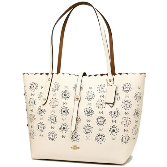Coach Tote in Ice Image 2