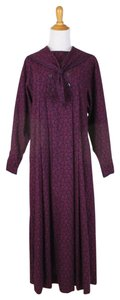 Burgundy Maxi Dress by Laura Ashley