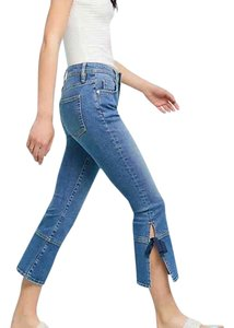Pilcro Flare Leg Jeans-Medium Wash