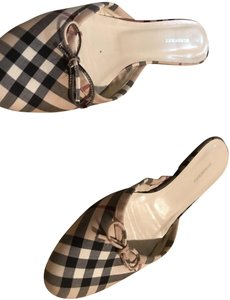 Burberry Classic Check Mules