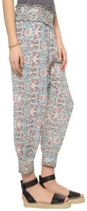Ulla Johnson Floral Cropped Relaxed Pants Multicolor