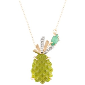 Alexis Bittar Alexis Bittar lucite pineapple necklace