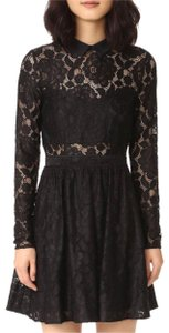 LIKELY Peter Pan Collar Lace Lbd Dress