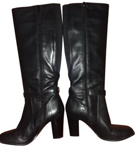 Marc Fisher Elastic Black Boots