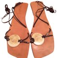 Calypso St. Barth Brown Sandals Image 0