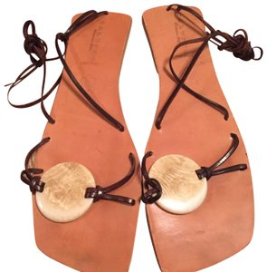 Calypso St. Barth Brown Sandals