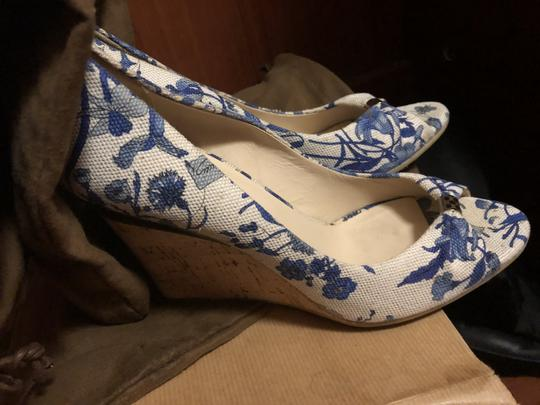Gucci White and blue Wedges Image 2